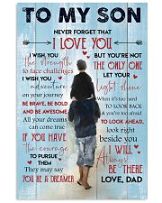 Gift For Your Son 11x17 Poster front