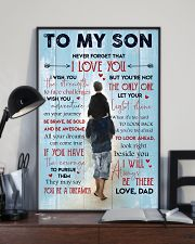 Gift For Your Son 11x17 Poster lifestyle-poster-2