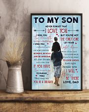 Gift For Your Son 11x17 Poster lifestyle-poster-3