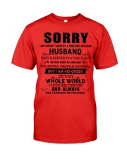 HUSBAND TO WIFE D1 Premium Fit Mens Tee thumbnail