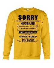 HUSBAND TO WIFE D1 Crewneck Sweatshirt thumbnail