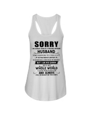 HUSBAND TO WIFE D1 Ladies Flowy Tank thumbnail