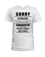 HUSBAND TO WIFE D1 Ladies T-Shirt thumbnail
