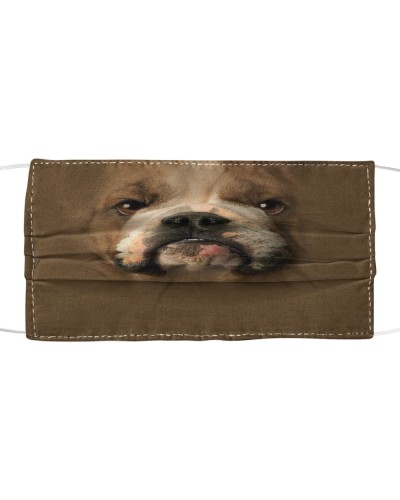 Own special with this mask - bulldog