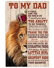 To My Dad AH79 11x17 Poster front