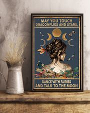 May you touch dragonflies and stars - A 11x17 Poster lifestyle-poster-3
