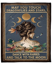 """May you touch dragonflies and stars - A Fleece Blanket - 50"""" x 60"""" thumbnail"""