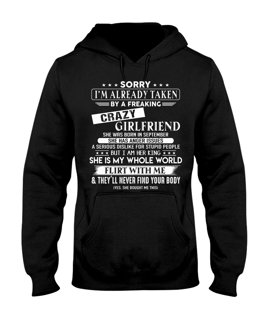 Girlfriend to Boyfriend D9 Hooded Sweatshirt