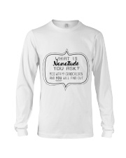 Perfect Gift For Your Loved Ones Long Sleeve Tee thumbnail