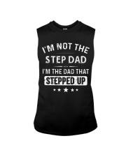 GO - STEP DAD - milk Sleeveless Tee thumbnail
