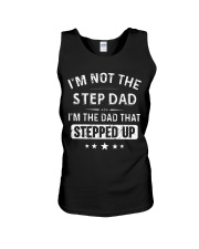GO - STEP DAD - milk Unisex Tank thumbnail