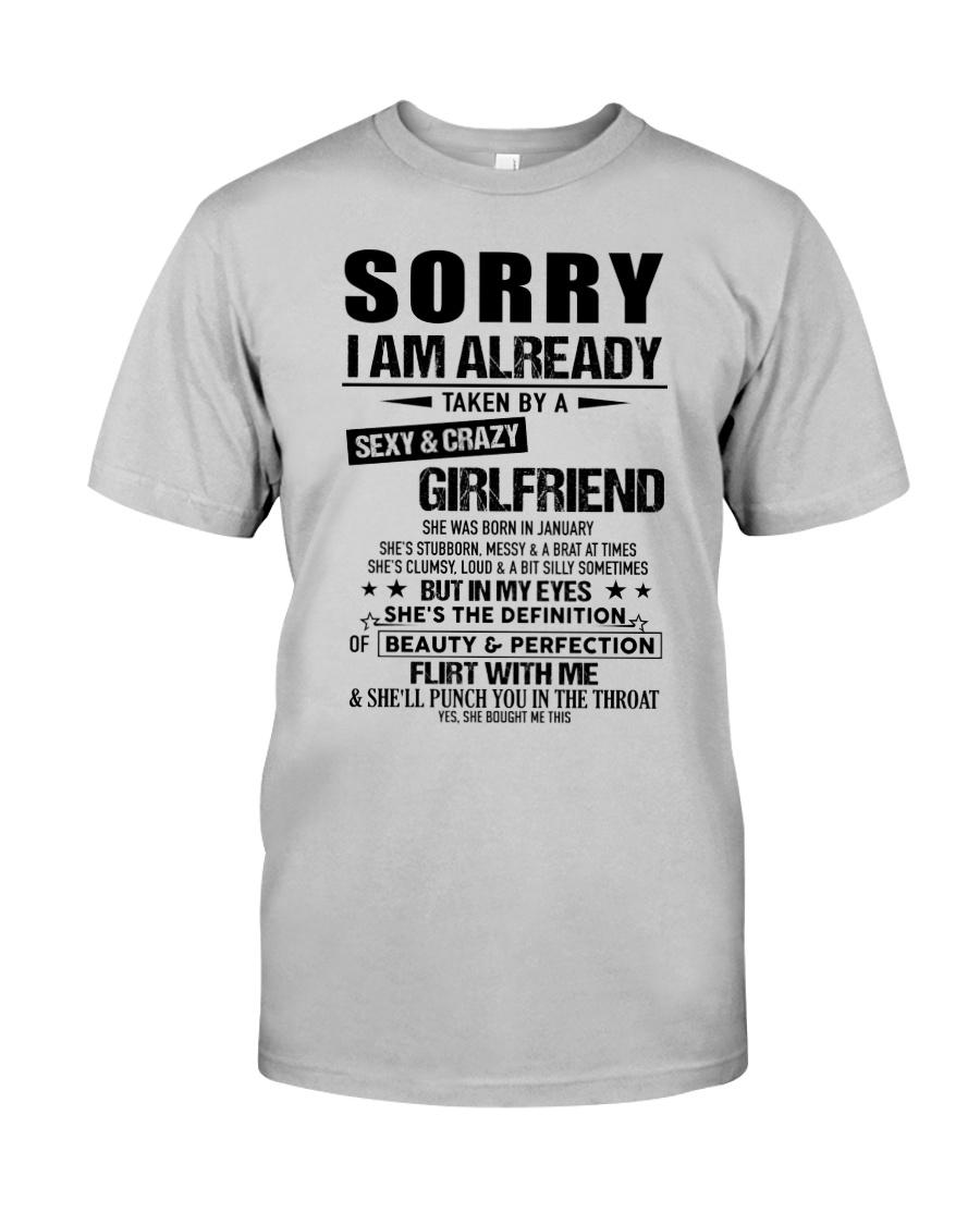 Gift for Boyfriend - girlfriend - TINH01 Classic T-Shirt