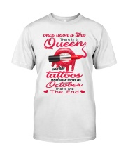Once Upon A Time - There Was A Queen - C10 Classic T-Shirt thumbnail