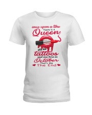 Once Upon A Time - There Was A Queen - C10 Ladies T-Shirt front