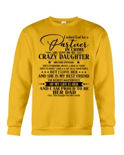 DAUGHTER TO DAD - D TATTOOS Crewneck Sweatshirt thumbnail