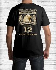 PERO SOLO LOS MEJORES NACEN EL 12 DE SEPTIEMBRE Classic T-Shirt lifestyle-mens-crewneck-back-1