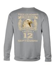 PERO SOLO LOS MEJORES NACEN EL 12 DE SEPTIEMBRE Crewneck Sweatshirt thumbnail