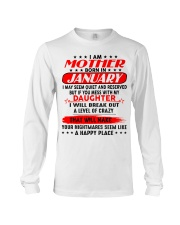 I am a spoiled MOM - DAD January  Long Sleeve Tee thumbnail