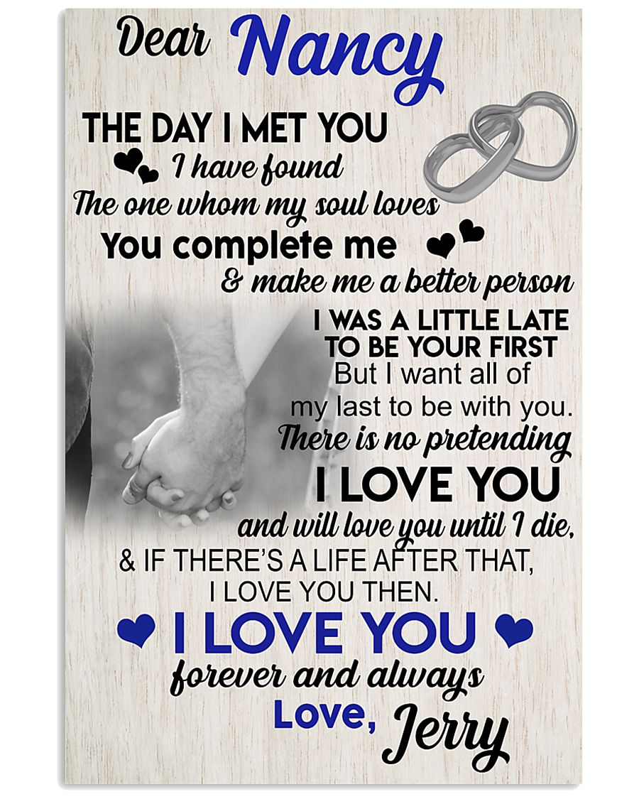 The day I met you I have found my soul loves 11x17 Poster
