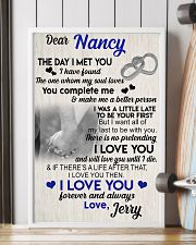 The day I met you I have found my soul loves 11x17 Poster lifestyle-poster-4