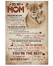 Special gift for mom -  AH79 11x17 Poster front