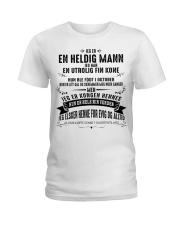 EN HELDIG MANN - HERKING NAUY XIU10 Ladies T-Shirt thumbnail