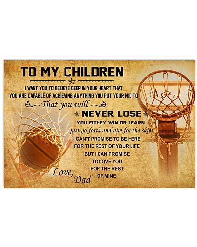 TO MY CHILDREN - basketball