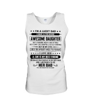 The perfect gift for Dad - D Unisex Tank thumbnail