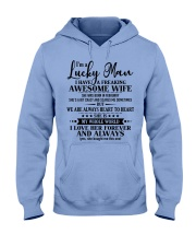 Perfect gifts for Husband- Lucky Man- 02 Hooded Sweatshirt thumbnail