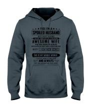 spoiled husband - august Hooded Sweatshirt thumbnail