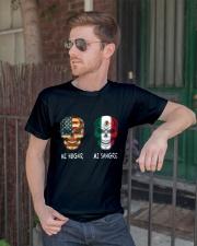 Mi Hogar Mi Sangre T0 Classic T-Shirt lifestyle-mens-crewneck-front-2