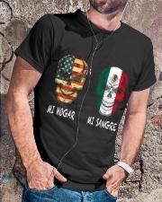 Mi Hogar Mi Sangre T0 Classic T-Shirt lifestyle-mens-crewneck-front-4