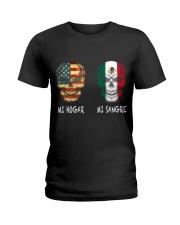 Mi Hogar Mi Sangre T0 Ladies T-Shirt thumbnail