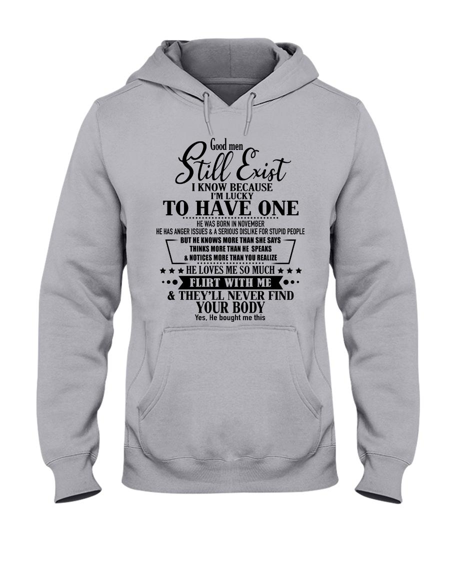 GOOD MAN D11 Hooded Sweatshirt