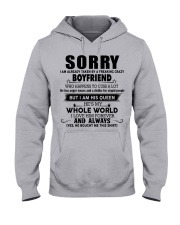 The perfect gift for girlfriend - 00 Hooded Sweatshirt front