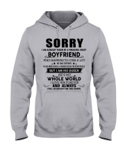 The perfect gift for your girlfriend - tt Hooded Sweatshirt front