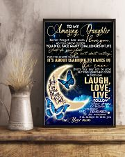 Special gift for daughter - C 241 11x17 Poster lifestyle-poster-3