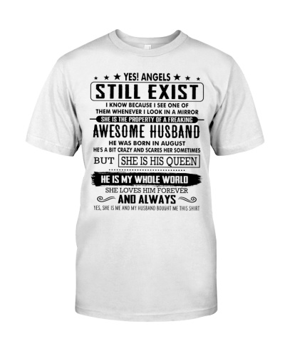 Funny Gift For Your Wife - Angels Still Exist T08