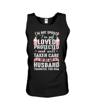 Well taken care of by my husband Q0 Unisex Tank thumbnail