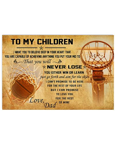 TO MY CHILDREN - basketball - CT