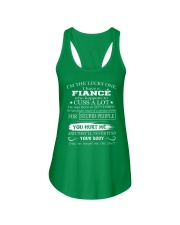 H - I'm the lucky one i have a crazy Fiance 09 Ladies Flowy Tank thumbnail