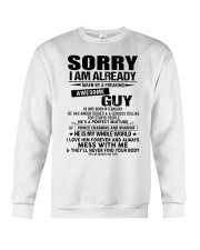 perfect gift for your girlfriend- A02 Crewneck Sweatshirt thumbnail
