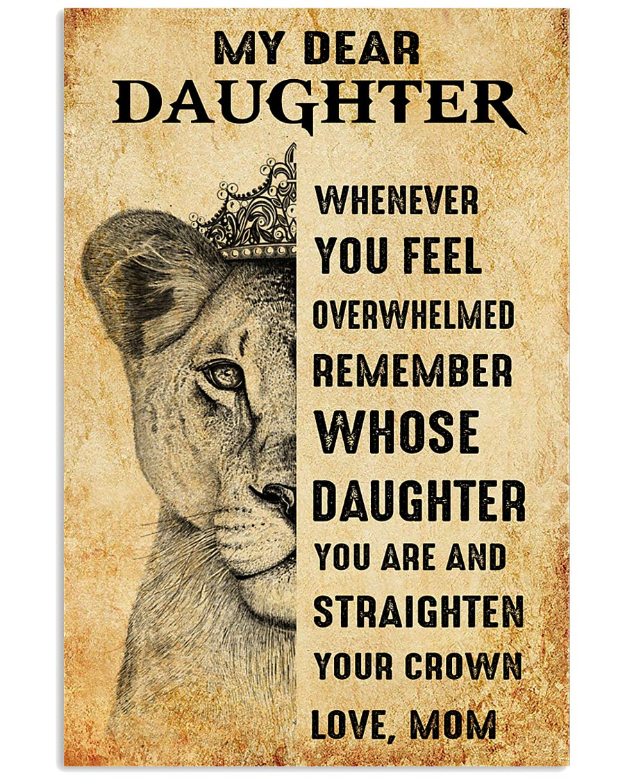 Special gift for daughter - C 249 11x17 Poster
