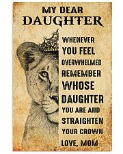 Special gift for daughter - C 249 11x17 Poster front