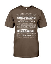 I have crazy GIRLFRIEND - She was born in June Classic T-Shirt tile