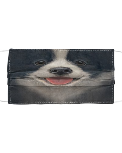 Own special with this mask - border collie