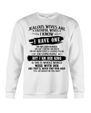 Jealous Wives Are Faithful Wives chad3 Crewneck Sweatshirt thumbnail