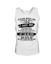 Jealous Wives Are Faithful Wives chad3 Unisex Tank thumbnail