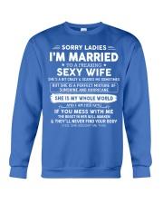 Perfect gift for husband AH00 black Crewneck Sweatshirt thumbnail
