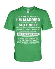 Perfect gift for husband AH00 black V-Neck T-Shirt thumbnail